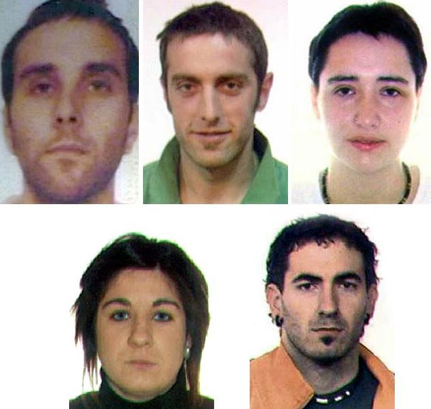 Terroristas más buscados