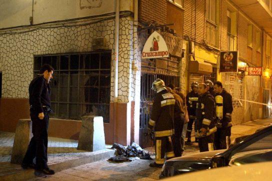 Explosión en un bar