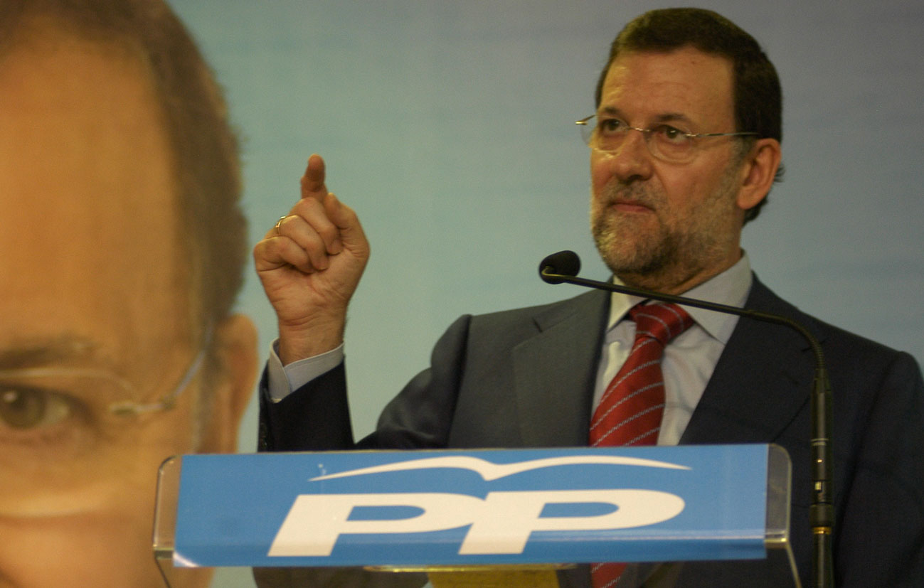 Rajoy durante su visita a Ceuta