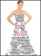27 vestidos - Cartel
