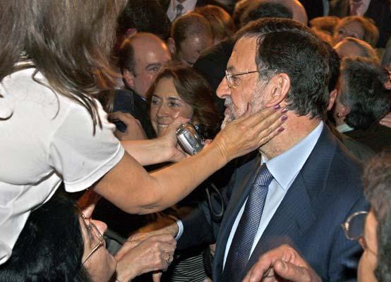 Mitin de Rajoy en Bilbao