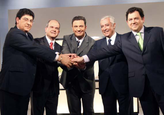 Debate de los candidatosa la Junta andaluza