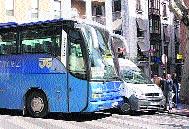 El autobús no puede pasar