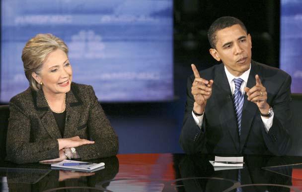 Intenso debate entre Obama y Clinton