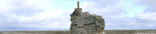 En la imagen restos del desaparecido castillo de Valdezate. (EFE)