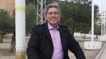 Pedro Vaquero, candidato de IU por Granada al Parlamento andaluz.