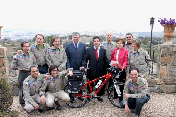 La 5ª Etapa de la 'Biciaventura' se presenta en Toledo