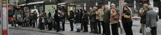 El tercer día de huelga transcurrió sin apenas retrasos (FOTO: JORGE PARÍS)