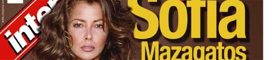 Sof�a Mazagatos en la portada de Intervi�