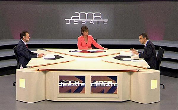 Debate Rajoy Zapatero