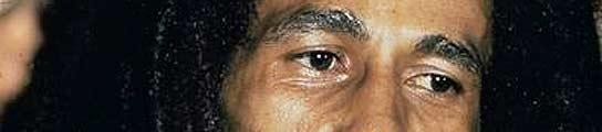 La leyenda del reggae, Bob Marley.