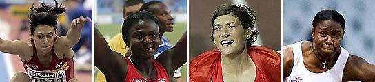 Las damas del atletismo español