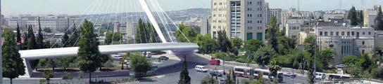 El puente de Calatrava en Jerusalén