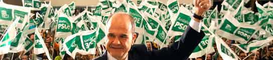 El secretario regional del PSOE-A y candidato a la reelección a la presidencia de la Junta de Andalucía, Manuel Chavez. EFE/EDUARDO ABAD