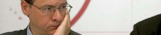 """El ex ministro Jordi Sevilla: """"Todos dicen que De la Vega se va, incluso ella misma""""  (Imagen: ARCHIVO)"""