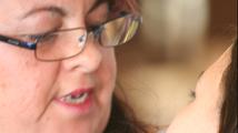 Trabajadora del sexo del colectivo Licit de Barcelona. MARIO VELASCO