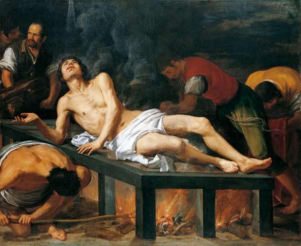Juseppe Leonardo. Martirio de San Lorenzo (Colección Granados 'Espíritu Barroco')