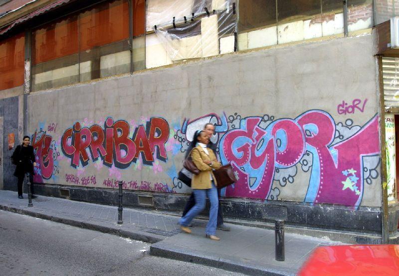 Grafitis.