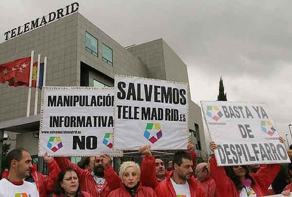 Huelga de Telemadrid