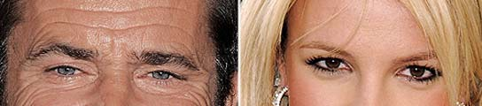 Mel Gibson y Britney Spears