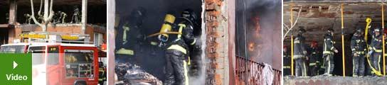 Explosión de gas en Barcelona