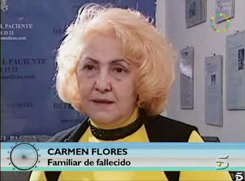 Carmen Flores, en 'La Noria'