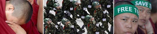 Más de 100 personas se han entregado a la policía china por su implicación en las revueltas de Lhasa. (AGENCIAS).
