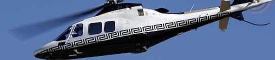 El helicóptero de Versace