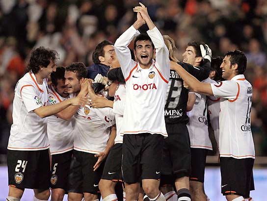 El Valencia, a la final de Copa