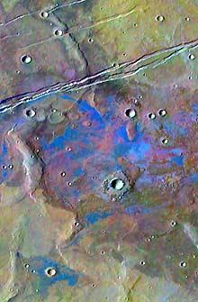 Yacimiento de sal en Marte. (Science).