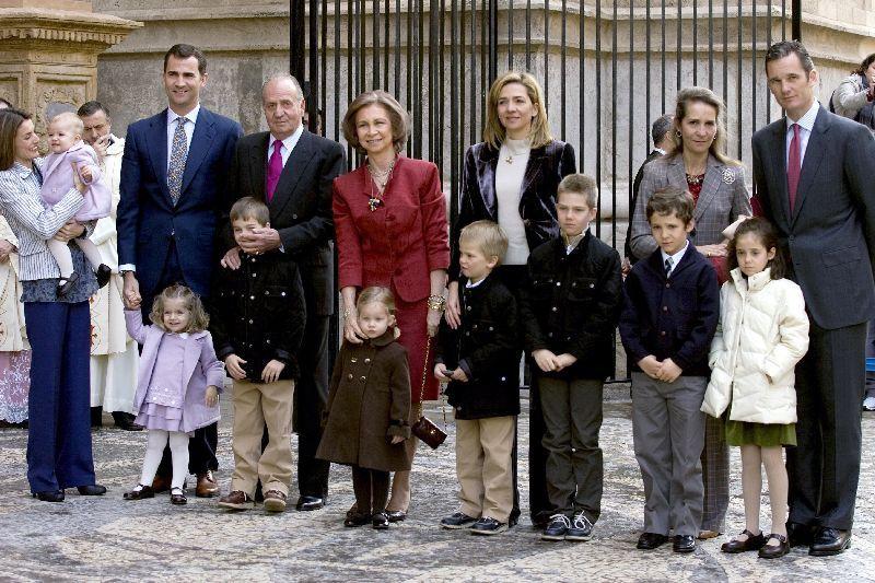 La Familia Real, en Mallorca
