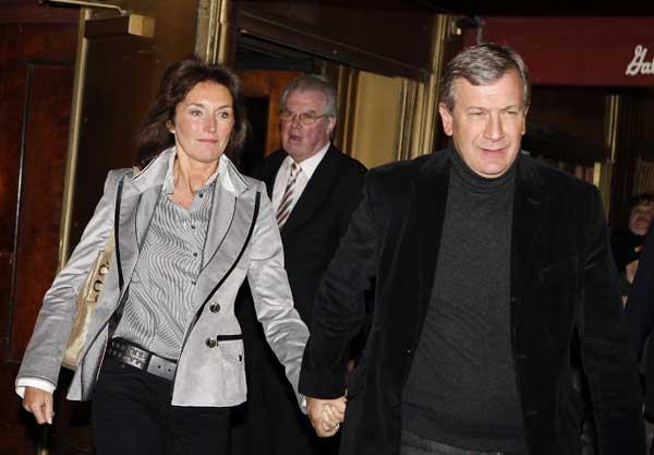 Romance intenso de la ex de Sarkozy