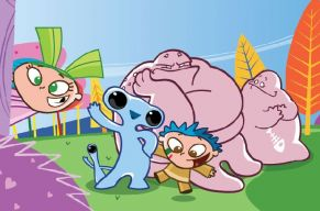 Dibujos animados Fluvi