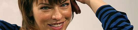 La actriz Mila Jovovich.