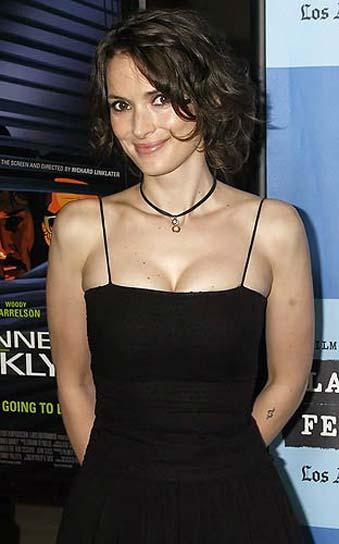 Winona Ryder, sorprendida robando en una tiendas de cosmética