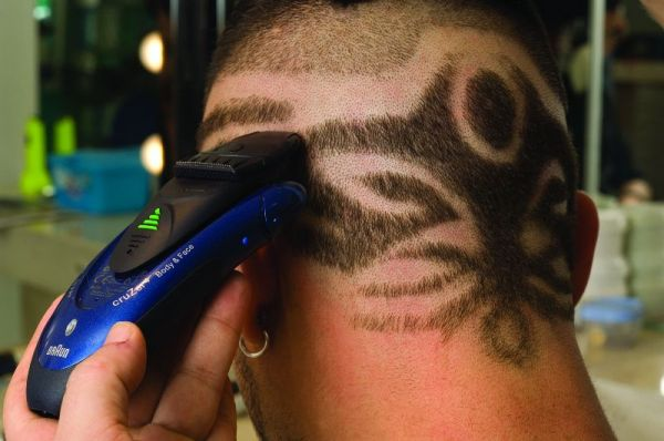 tatuaje a pelo