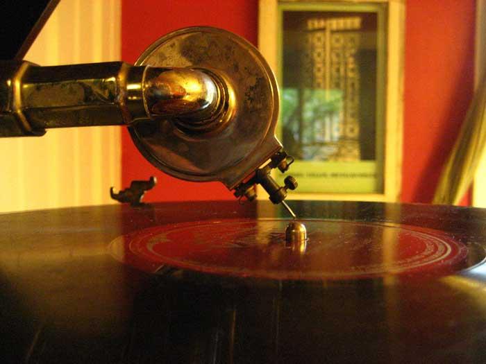 Reproducción de sonido, a la antigua