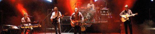 Los Secretos, durante un concierto en febrero en Bilbao