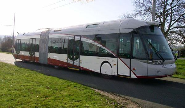 Metrobús de Bolonia.
