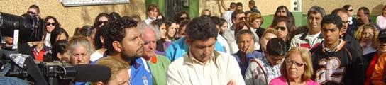 Concentraci�n en El Torrej�n