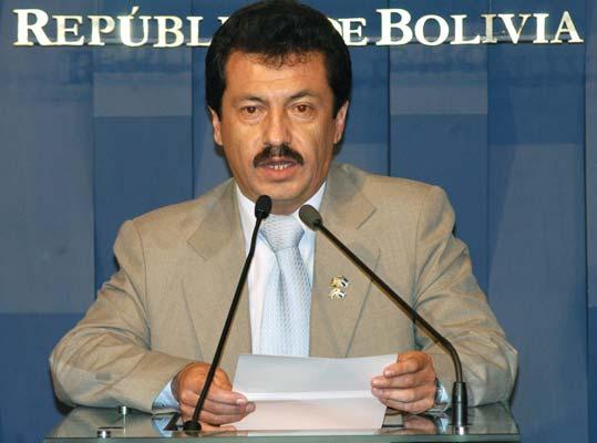 Dimite el portavoz de Evo Morales, uno de sus colaboradores más cercanos
