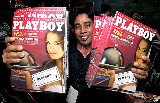 Playboy en Filipinas (2/4/2008)