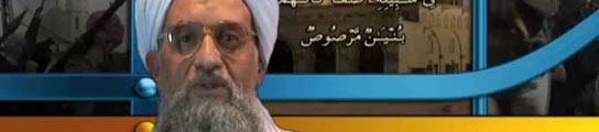 Ayman Al Zawahri, en una imagen de un vídeo anterior. (AGENCIAS).