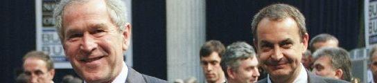 Zapatero y Bush
