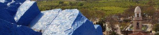 La monta�a azul de Cabezo de Torres