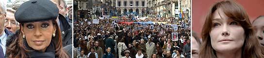 Marcha blanca de París por Betancourt