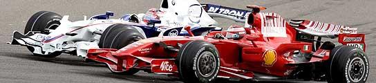 Imagen del GP de Fórmula Uno disputado en Bahrein.