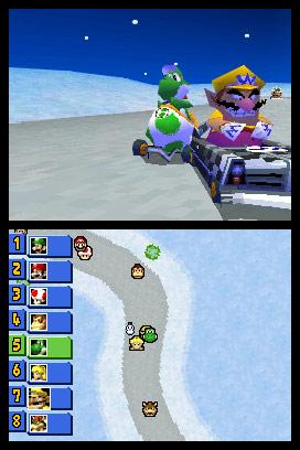 17 Mario Kart DS. Mario Kart DS, repetimos con Mario.