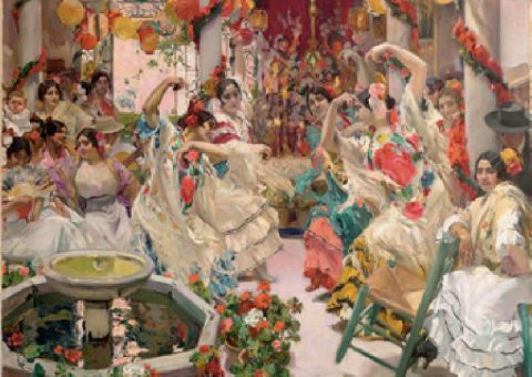 Llegan a sevilla los 14 lienzos que componen la exposici n for Todo pintura sevilla