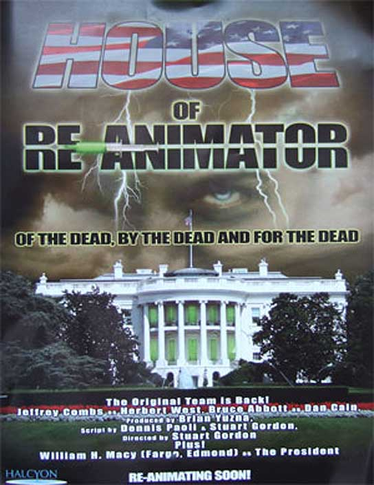 Cartel de 'House of Re-Animator'.